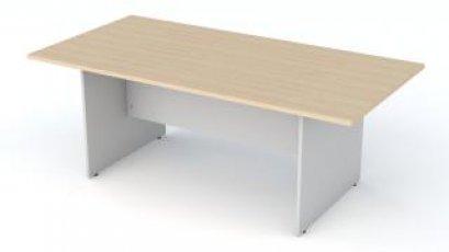 โต๊ะประชุมขาไม้