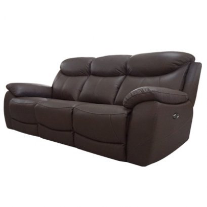 เก้าอี้พักผ่อนหนังแท้ (ระบบไฟฟ้า) 3 ที่นั่ง ปรับนอนได้ 2 ที่นั่ง (ซ้าย/ขวา)