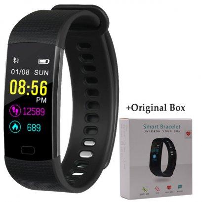 นาฬิกา smart watch fitness รุ่น MFIT2 แบบ วัดหัวใจ ต่อ app บลูทูธ ดีไซน์ทันสมัย กันน้ำ IP68