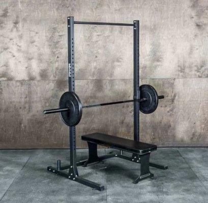 Half Rack (ฮาฟ แรค)  ยกน้ำหนัก รองรับ 300 กก. (ไม่รวม ม้านั่ง บาร์ และ แผ่นเหล็ก)