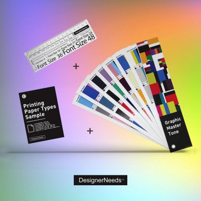 Promotion New Set 3 / GraphicMasterTone + PPTS + Ruler D