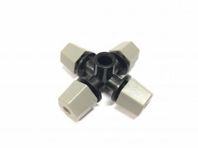 หัวพ่นหมอก ชนิดหัว 4 ทาง( 4 Outlet Fogger,Grey Nozzle)