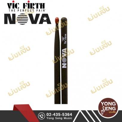 NOVA ไม้กลอง 2B (หัวไนล่อน) รุ่น N2BNB
