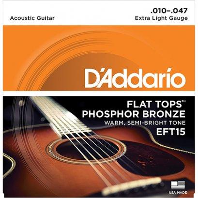 D'ADDARIO สายกีตาร์โปร่ง รุ่น EFT15