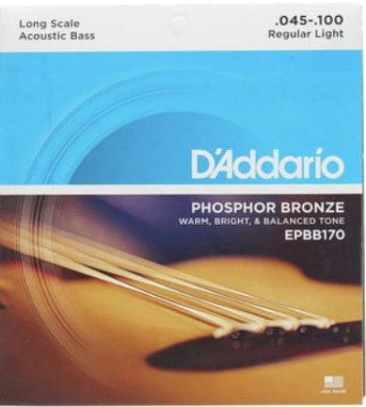 D'ADDARIO สายกีตาร์เบสโปร่ง รุ่น EPBB170