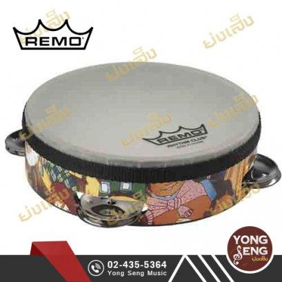 แทมบูรีน Remo รุ่น Rhythm Club (ลายรูปคน) รหัส RH-2106-00