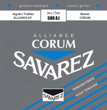 Savarez สายกีตาร์คลาสสิก Corum Alliance-High รุ่น 500AJ