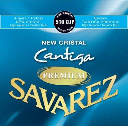 Savarez สายกีตาร์คลาสสิก Cantiga New Cristal-Premiu รุ่น 510CJP