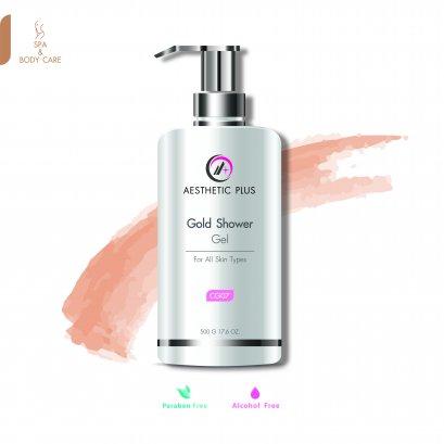 CG07  :  Gold Shower Gel เจลอาบน้ำทองคำ  / For all skin types