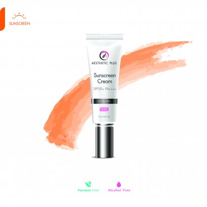 SC01  :  Sunscreen Cream SPF50 PA++++  (สำหรับผิวมัน) (Physical Sunscreen)