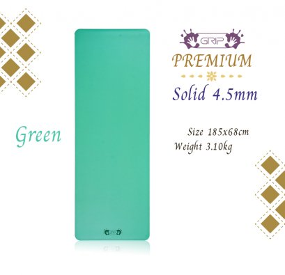 Grip - Premium Solid Mat 4.5mm : Green