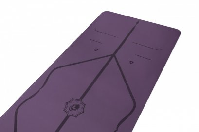 Liforme - Yoga Mat 4.2mm : PURPLE EARTH