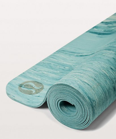 เสื่อโยคะ Lululemon - Namastay Mat 4mm :  Sea Green/Teal Shadow