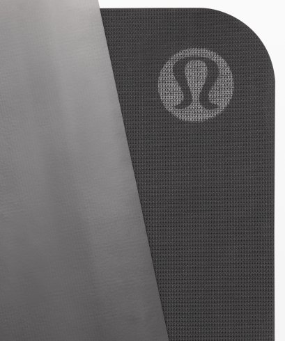 เสื่อโยคะ Lululemon - The Reversible Mat 5mm : Black and White