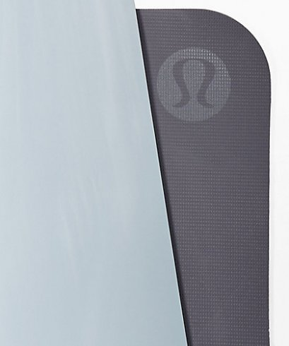 เสื่อโยคะ Lululemon - The Reversible Mat 5mm : Chambray/Moonwalk
