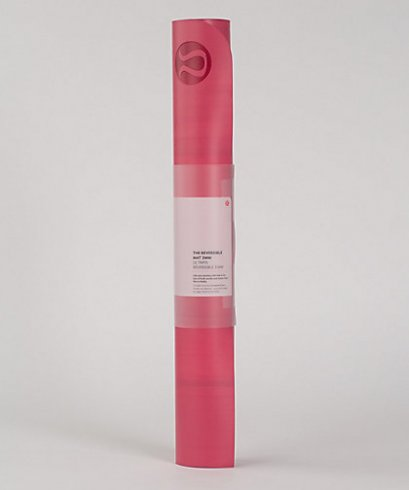 เสื่อโยคะ Lululemon - The Reversible Mat 3mm : Lip Gloss/Ruby Red