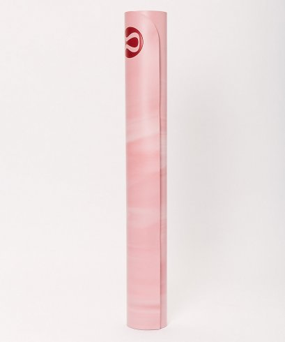 เสื่อโยคะ Lululemon - The Reversible Mat 3mm : Petals/Cherry Dust