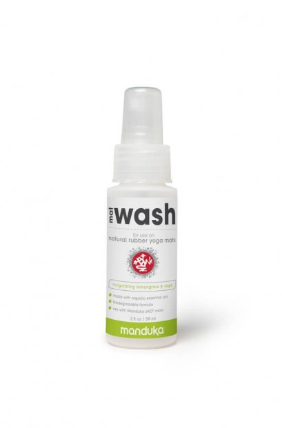 Manduka Natural Rubber Mat Wash Travel Spray - INVIGORATING LEMONGRASS