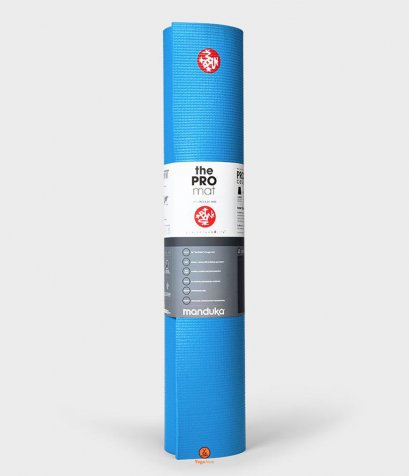 เสื่อโยคะ Manduka - Black Mat PRO® 6mm (Limited Edition) - DRESDEN BLUE 71""