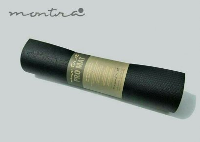 เสื่อโยคะ Montra - ECO PVC Yoga Mat 6MM - Black