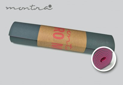 เสื่อโยคะ Montra - ECO PVC Yoga Mat 6MM - Grey