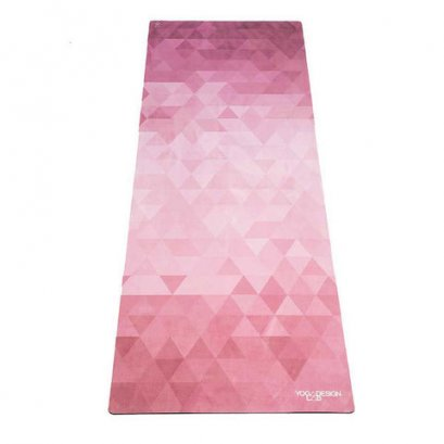 เสื่อโยคะ Yoga Design Lab - Commuter Mat 1.5mm : Tribeca Ruby