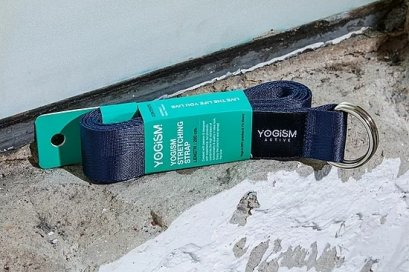 โยคะสแตรป YOGISM - Stretching strap : Navy