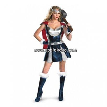 [[สินค้าหมด]] ชุดแฟนซี cosplay ชุดคอสเพลย์ ชุดซุปเปอร์ฮีโร่ Thors super hero