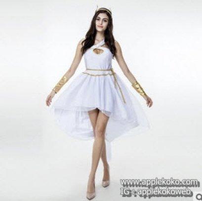 [[สินค้าหมด]] ชุดแฟนซี cosplay คอสเพลย์ Greek ชุดเทพเจ้ากรีก