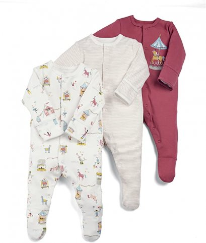 Mamas&Papas 3 Piece Circus All-in-Ones