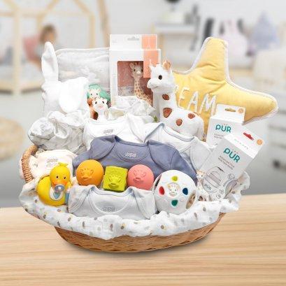 เซตของขวัญสำหรับเด็กแรกเกิด - Welcome Baby Gift Set (**จัดส่งเฉพาะใน กทม. ค่าจัดส่งคิดตามระยะทาง**)