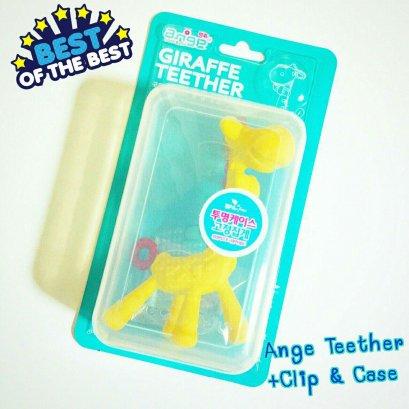 ยางกัดยีราฟ รุ่นพิเศษพร้อมกล่องและคลิป อังจูเดอะยีราฟ แบรนด์ Ange - Ange The Giraffe Special Edition
