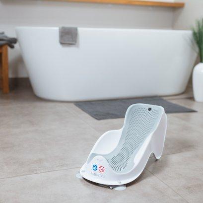 Angelcare ที่รองนั่งอาบน้ำเด็ก Baby Bath Support Fit สีเทา