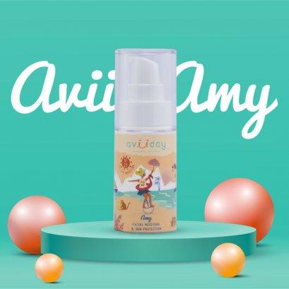 โลชั่นกันแดดสำหรับเด็ก Avii Amy Facial moisture & Sun Protection SPF25