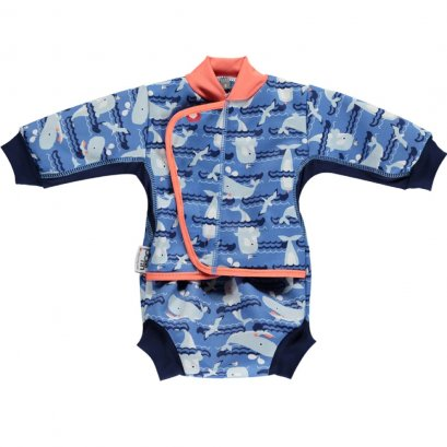 Baby Cosy Suit - Endangered Ocean Collection
