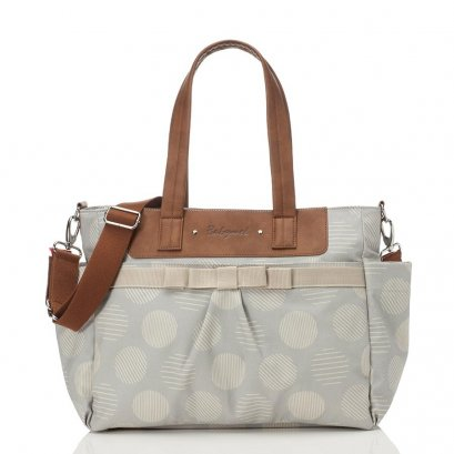 BabyMel  Cara  - Retro Dot Grey