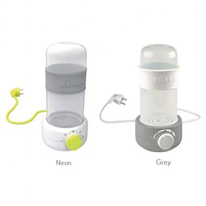 Baby Milk Second grey : bottle warmer + Bottle and teat steriliser