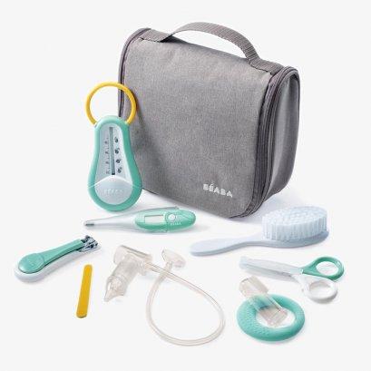 ชุดอุปกรณ์ดูแลสุขภาพเด็กพร้อมกระเป๋า Hanging Toiletry Pouch with 9 Accessories - Grey