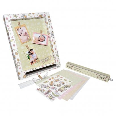 Gifthing ชุดกรอบรูป DIY เก็บความทรงจำ ขนาดกลาง Sweet Dream Medium Display Frame(Oxford Version)