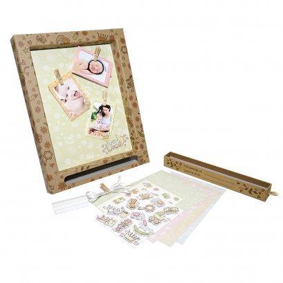 Gifthing ชุดกรอบรูป DIY เก็บความทรงจำ ขนาดกลาง Sweet Dream Medium Display Frame(Vintage Version)