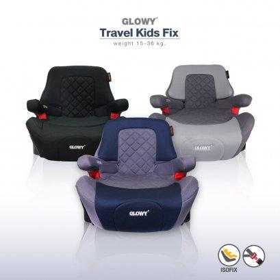 คาร์ซีทบูสเตอร์GLOWY Travel Kids Fix Booster Seat  (4 – 12 ขวบ) ***ราคาปกติ 3,325 มีค่าส่งเพิ่ม 300 บาท โดยค่าส่งได้รวมกับราคาข้างล่างแล้ว***