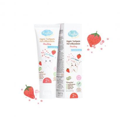 ยาสีฟัน Organic Toothpaste รส Strawberry (1+)