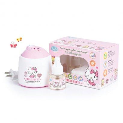 เครื่องไล่ยุงไฟฟ้า  Electric Mosquito Repellent Liquid Vaporizer ลาย Hello Kitty Limited Edition