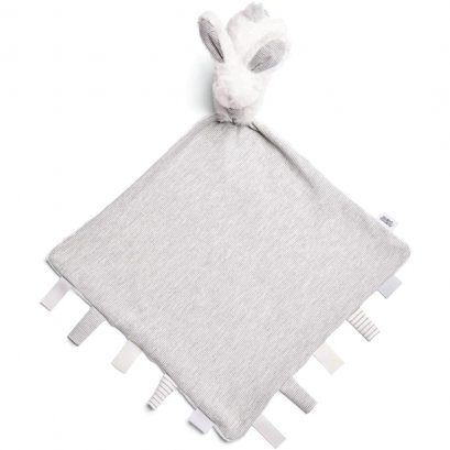 Mamas and Papas Welcome to the World Bunny Baby Comforter – Grey