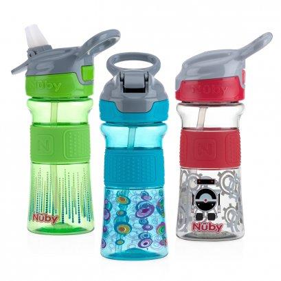 Nuby แก้วหลอดดูด Thirsty Kids™ Flip-it™ REFLEX