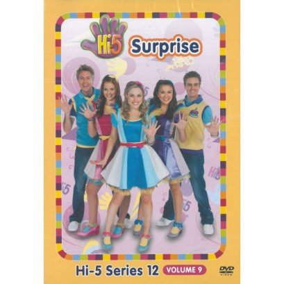 Hi-5 Series 12 Volume 9 Surprise DVD (Australia Series)