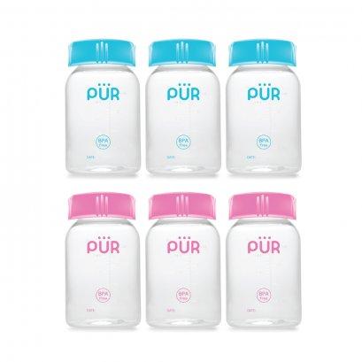 ขวดเก็บน้ำนม แพ็ค 3  Breastmilk Storage Bottles - Pur