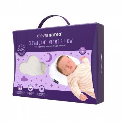หมอน Clevafoam สำหรับทารก 0-6 เดือน (หมอนหลุม)