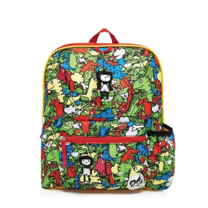 Kid's Backpack Age 3+ Dino Multi