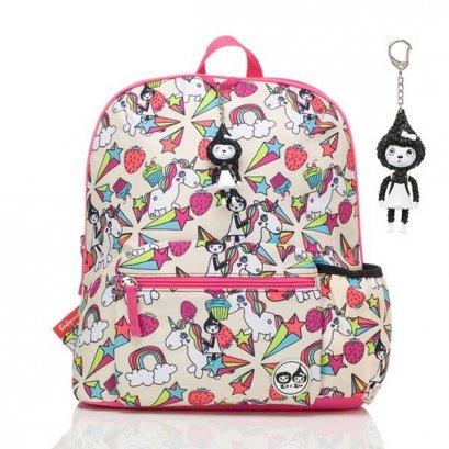 Zip & Zoe กระเป๋าเป้ไปโรงเรียนสำหรับเด็ก   ลาย Unicorn